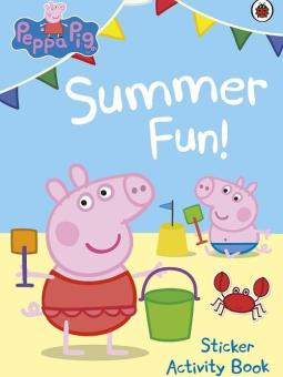 Peppa Pig Summer Fun! Sticker Book