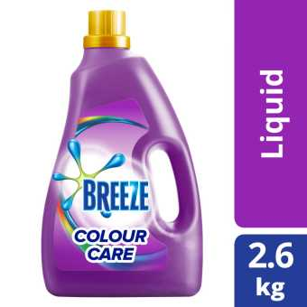 Breeze Colour Care Liquid Detergent 2.8kg
