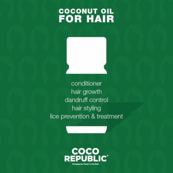 Coco Republic Coconut Oil 400ml