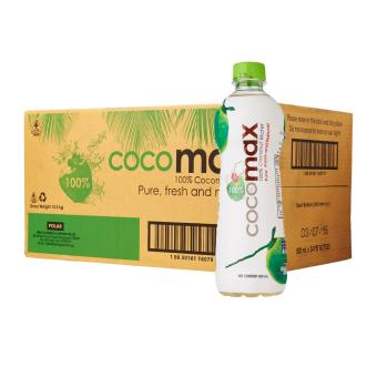 COCOMAX 100% Coconut Water 24 x 500ml