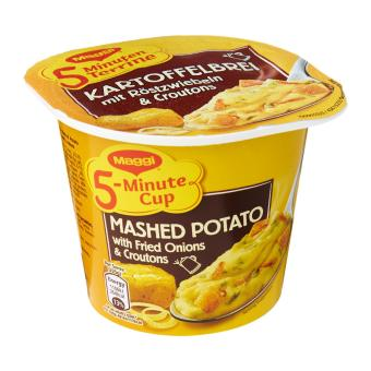 MAGGI 5-Min Mashed Potato with Fried Onions & Croutons 56g
