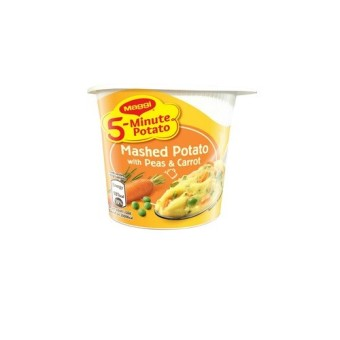 MAGGI 5-Min Mashed Potato with Peas & Carrot 43g