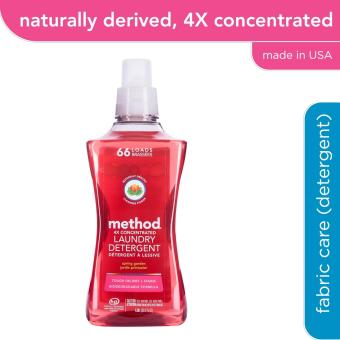 method 4X concentrated laundry detergent - spring garden 1.58L (66 loads)