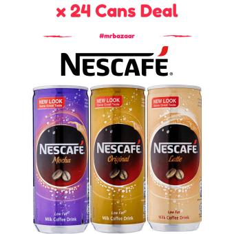 Nescafe [Original] Can x 24 cans Deal (240ml)