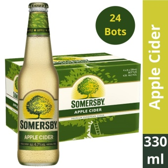 Somersby Apple Cider 330ml (Box of 24 Bottles)