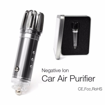 2017 Hot New Products Car Ionizer Air Purifier, Car Air PurifierIonizer - intl