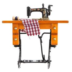 Dollhouse Sewing Machine With Thread Scissors Material - Intl