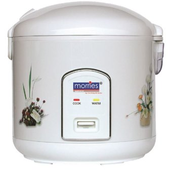 Morries RC40DLW Rice Cooker with Steamer 1.8L
