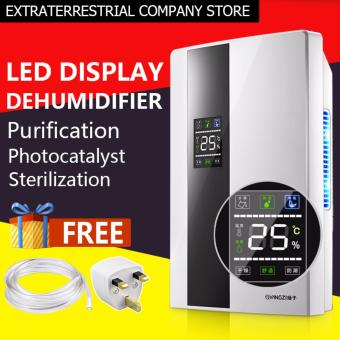 New LED Display Mute Purifiers Air Dehumidifier - intl