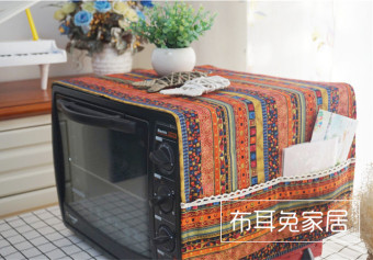 Oil cover microwave cover towel oven cover Linen