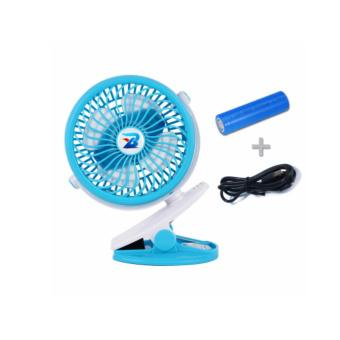 Pram fan / Stroller fan / Clip-on Fan for Pram use (Light Blue Colour)