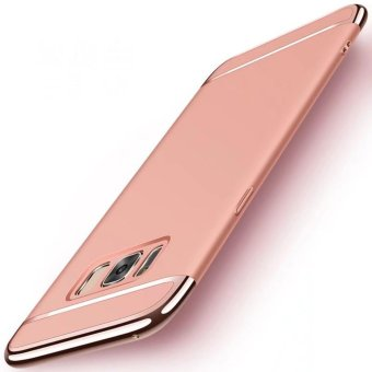 3 in 1plating Back cover case For Samsung Galaxy S8 Plus(Rose Gold)- intl