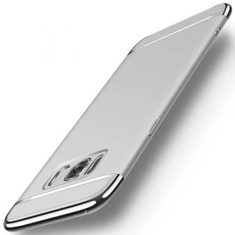 3 in 1plating Back cover case For Samsung Galaxy S8 Plus(Silver) -intl