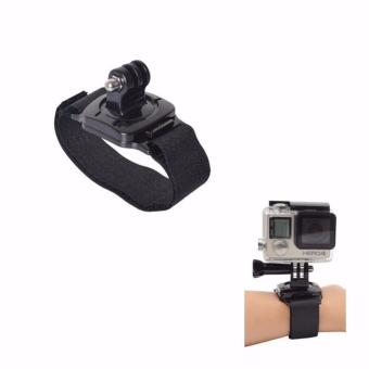 360 Degree Rotation Wrist mount Belt for Gopro Hero & OtherAction Camera