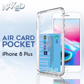 Air Card Pocket Apple iPhone 8 Plus Case [Card Slot]