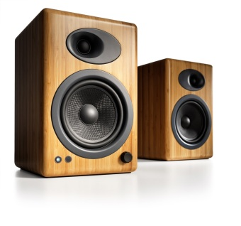 Audioengine A5+ Powered Speakers, Bamboo /Official Product