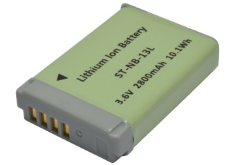 Battery ST-NB-13L suitable for Canon Digital Camera