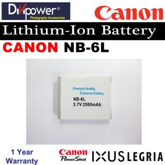 Canon NB-6L Lithium-ion Battery for Powershot IXUS Camera byDivipower