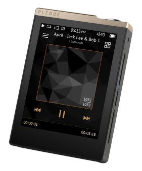Cowon Plenue D 32GB High Res Music Player (Black Gold)