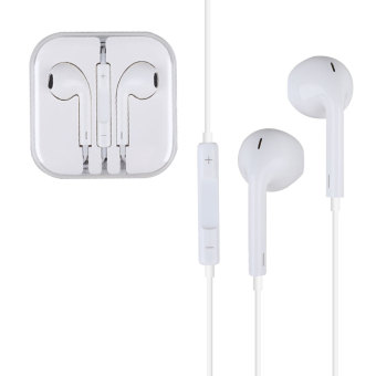Earphone Earbud Headphone 3.5mm Headset W/Mic For Apple iPhone iPod Touch