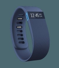 Fitbit Charge Wireless Activity + Sleep Wristband (blue- Large)