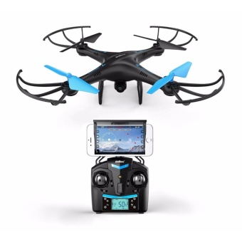 Force1 U45W Blue Jay Wifi Fpv Quadcopter Drone With Hd Camera