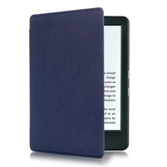 GETEK Thin PU Leather Case Cover for Amazon Kindle 8th 2016 (DeepBlue)
