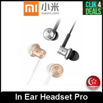 Imported Original Xiaomi Mi In Ear Headset Pro (Silver/gold)