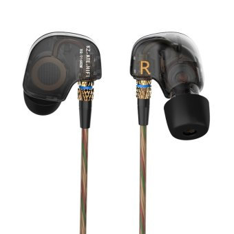 KZ ATE Sports Headphones Noise Cancelling In-Ear Headset Bass HIFI Music Earphones For Iphone 6 Mobile Phone MP3 Computer