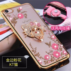 3d Soft Plastic Case Coque For Vivo Source Luxury Rhinestone Phone Case Cover .