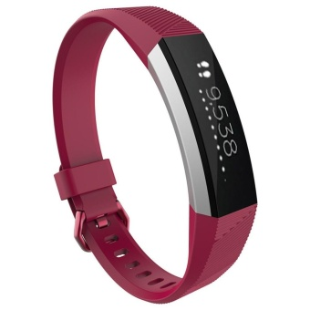 Luxury Silicone Watch Replacement Band Strap For Fitbit Alta HRWristband - intl