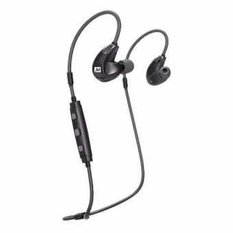 MEE Audio X7 Plus Stereo Bluetooth Wireless Sports In-Ear HD Headphones With Memory Wire(Black)