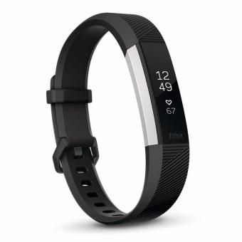 [New Launch] Fitbit Alta HR Heart Rate + Fitness Wristband (Black Large)