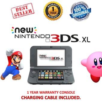 Nintendo New 3DS XL Console Black
