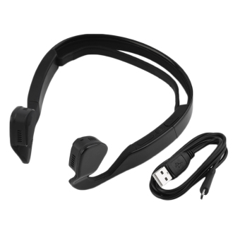 OH Bone Conduction Bluetooth 4.0 Wireless Stereo Headset Sports Headphone