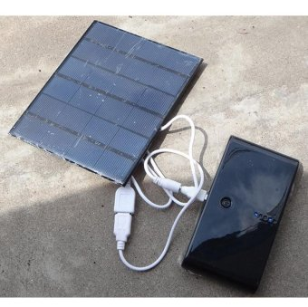 Portable Solar Panel Power Battery Charger Backup For phone 3.5W 6V- intl