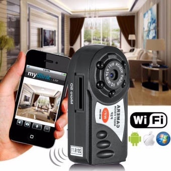 Q7 Mini Portable WiFi Pocket Camera Indoor Hidden Video RecorderSecurity - intl