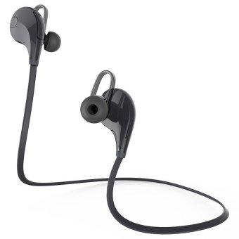 qy7 wireless bluetooth headphones for running black lazada singapore. Black Bedroom Furniture Sets. Home Design Ideas