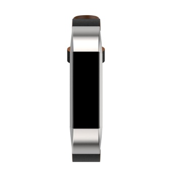 Replacement Leather Band Strap Bracelet For Fitbit Alta HR SmartWatch - intl