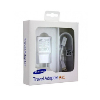 Samsung 2-Pin Adaptive Fast Charging Wall Charger (White)
