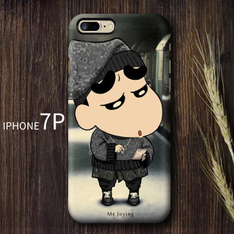 Shinchan iphone7/7 plus cool new Apple drop-resistant matte shell phone case