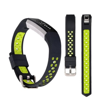 Silicone strap for Fitbit Alta Wrist Replacement Band GN - intl