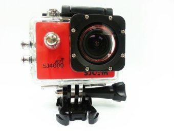 SJCAM SJ4000 WIFI model 1080P 12MP Full HD Action Camera Red