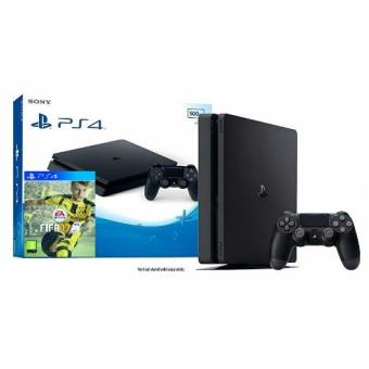 Sony PS4 Console 500GB (Black) + PS4 FIFA 17 Game   sony ps4 console 500gb (black) + ps4 fifa 17 game Sony PS4 Console 500GB (Black) + PS4 FIFA 17 Game sony ps4 console 500gb black ps4 fifa 17 game 1476075250 7963911 711c13fb8579bfbc7a2f36fd534e5faf product