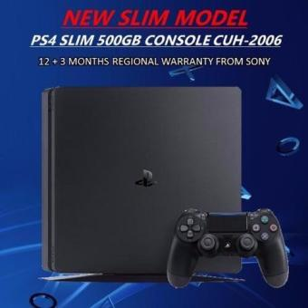 Sony PS4 Playstation 4 Slim Console 500GB (Black)