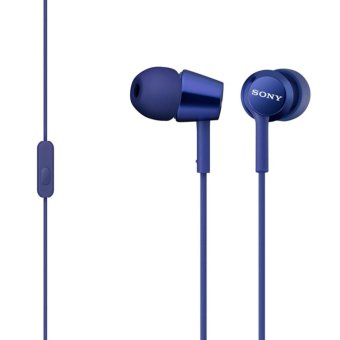 Sony Singapore MDR-EX150AP In-Ear Headphone (Blue)