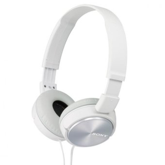 Sony Singapore MDR-ZX310 On-ear Headphone (White)