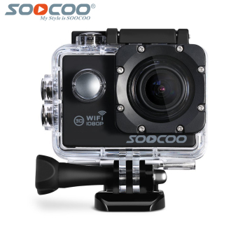 SOOCOO Official C10S 1080P Wifi Waterproof Sports Action Camera(Black)