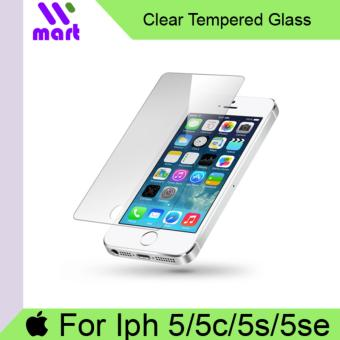 Tempered Glass Screen Protector (Clear) For Iphone 5 5c 5s 5se
