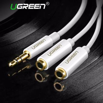 UGREEN 3.5mm Audio Stereo Y Splitter Cable for Earphone Headset - Intl